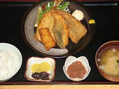 地魚フライ定食